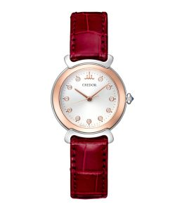 CREDOR リネアルクス GSAS936 レディース 腕時計 クレドール ダイヤモンド SS/K18ピンクゴールドコンビ