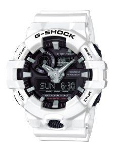 カシオ Gショック GA-700-7AJF メンズ 腕時計 アナデジ ホワイト