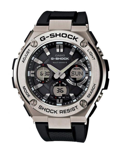 カシオ Gショック G-STEEL GST-W110-1AJF ソーラー 電波時計