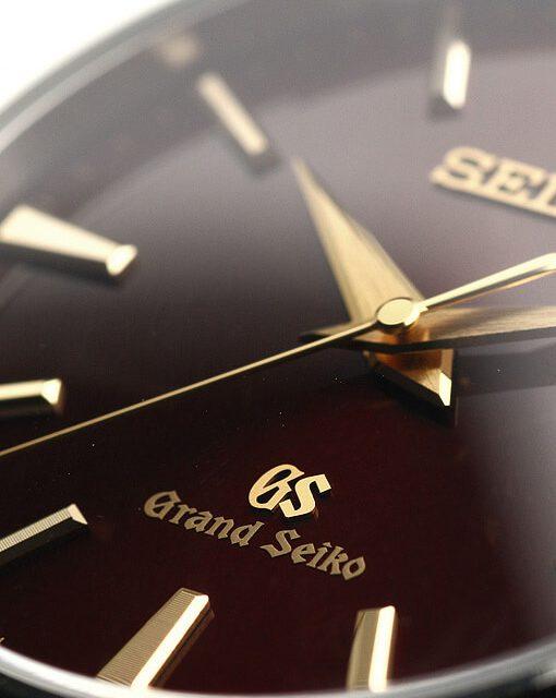 グランドセイコー SBGV027 クオーツ 40mm 500本限定 赤色