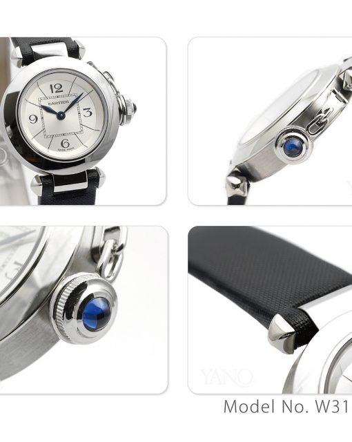 カルティエ Cartier ミスパシャ W3140025 トワルストラップ