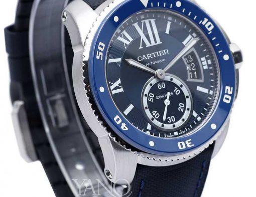 カルティエ Cartier カリブル ドゥ カルティエ ダイバー ブルー ウォッチ WSCA0010 セラミックベゼル