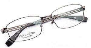 シャルマン ラインアート エクセレンスチタン 眼鏡 メガネ めがね フレーム 軽い シニア