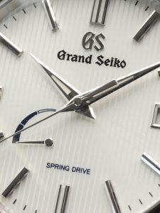 グランドセイコー SBGA347 スプリングドライブ ブライトチタン 9R65
