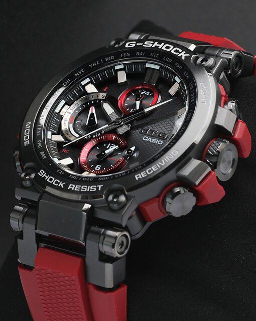 カシオ Gショック MTG-B1000B-1A4JF Bluetooth®搭載 電波ソーラーモデル