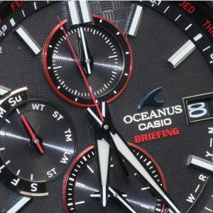 カシオ OCEANUS×BRIEFING OCW-T2610BR-1AJR オシアナス ×ブリーフィング