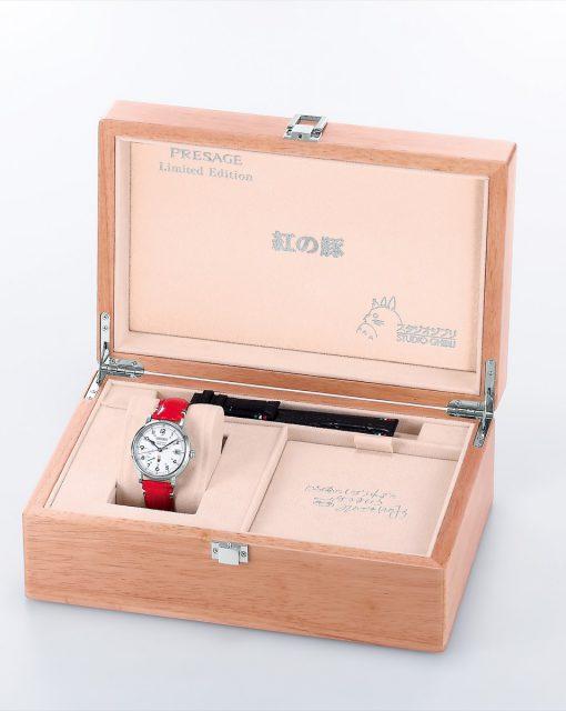 セイコー プレザージュ  SARR005 セイコーウオッチサロン専用モデル 紅の豚 スタジオジブリ